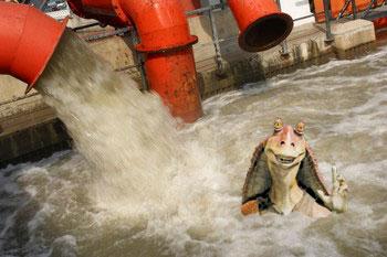 Sewage pool